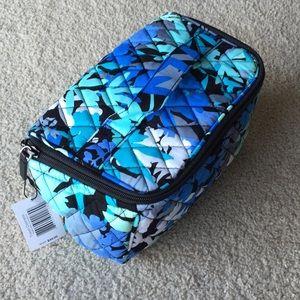 Vera Bradley travel cosmetic bag NWT camofloral